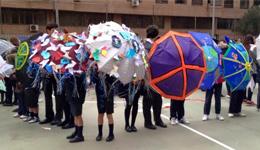 paraguas contra la violencia
